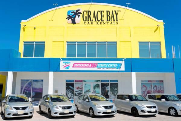 Grace Bay Car Rentals on Leeward Highway