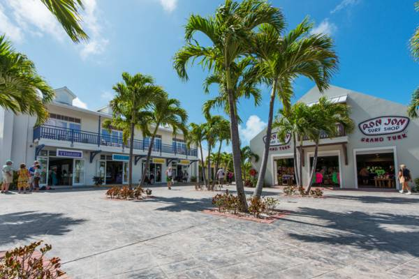 shops at the Grand Turk Cruise Center in the Turks and Caicos