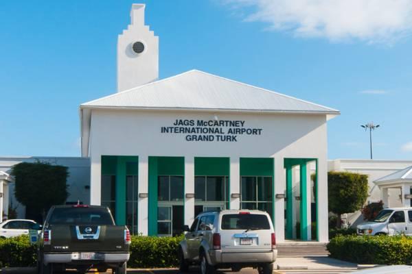 the Grand Turk International Airport