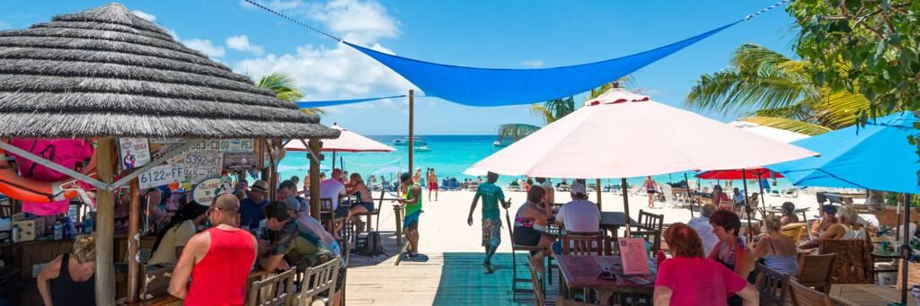 Jack's Shack beachfront restaurant and bar at Grand Turk