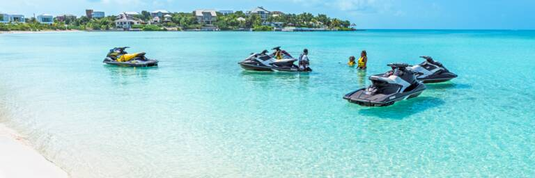 jet ski tour in Turks and Caicos