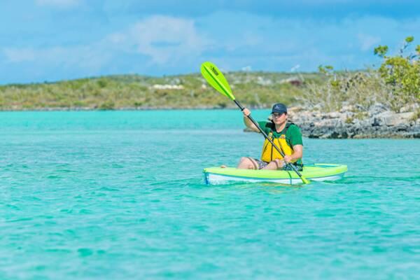 kayaking at South Caicos
