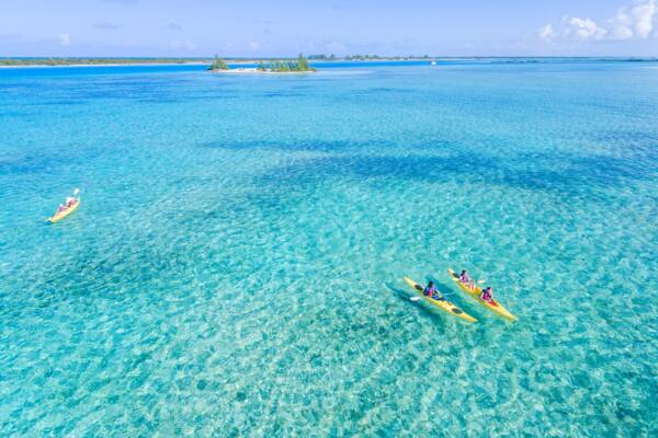 kayaking in Turks and Caicos