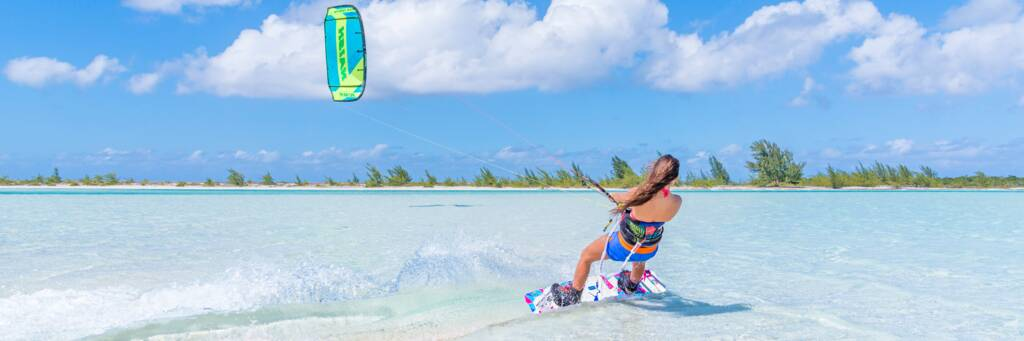 Kiteboarding in Turks and Caicos