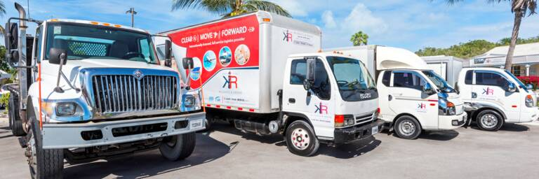 moving vans in Turks and Caicos