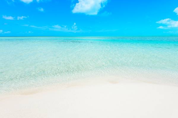 beach on Long Cay in the Turks and Caicos