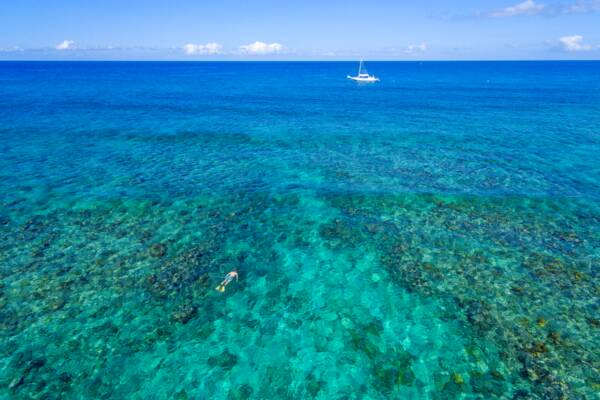 Turks and Caicos private snorkel charter