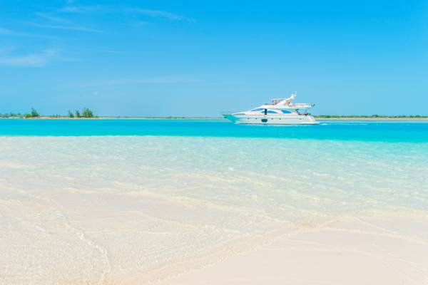 PRIVÉ luxury yacht in the Turks and Caicos