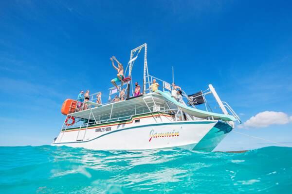 Ocean Outback Adventures boat