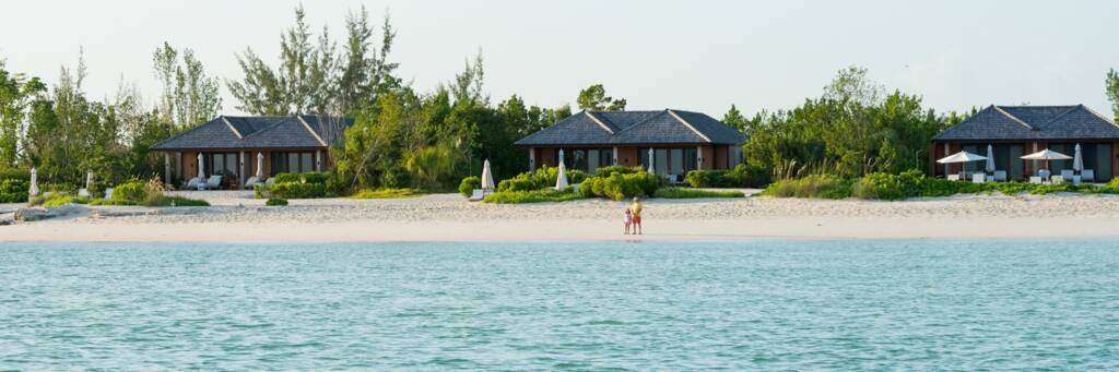The all-inclusive COMO Parrot Cay Resort