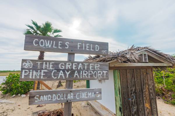 The Cowles Field Terminal at the Pine Cay Airport (PIC)