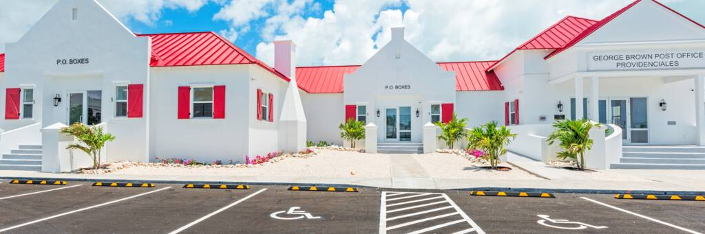 Geroge Brown Providenciales Post Office
