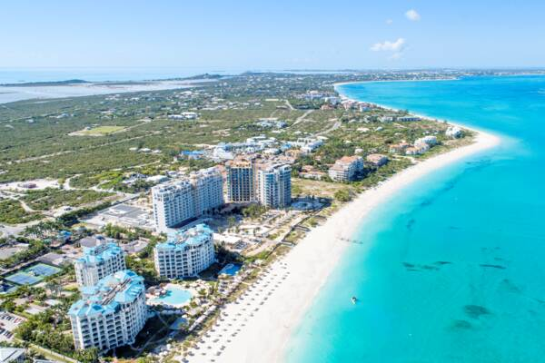 Turks and Caicos Ritz-Carlton project on 7 January 2021