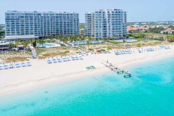 Ritz-Carlton resort on Grace Bay