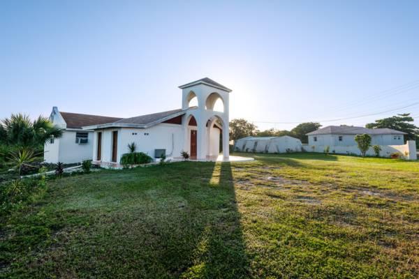 church at Sandy Point, North Caicos