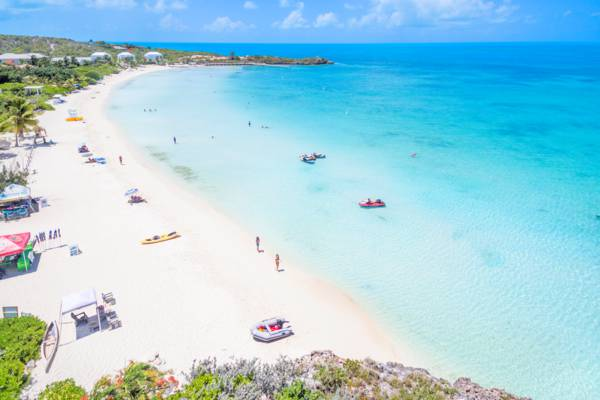 Sapodilla Bay Beach in the Turks and Caicos