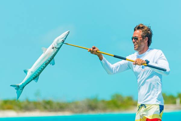 fishing for barracuda in the Turks and Caicos