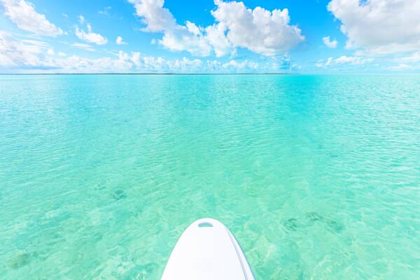 paddle board at South Caicos