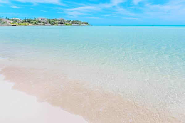 Taylor Bay Beach and Ocean Point Peninsula on Providenciales