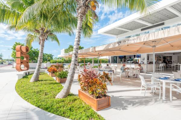 the Terrace on Grace Bay in Turks and Caicos