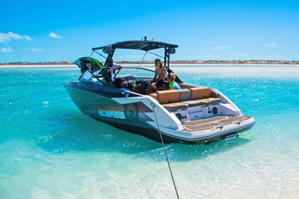 Turks and Caicos wakeboarding