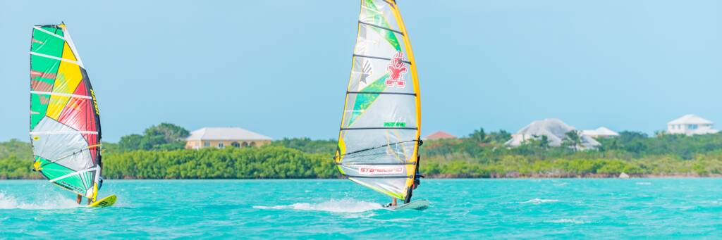 The Best Turks and Caicos Windsurfing – Tours, Rentals, and