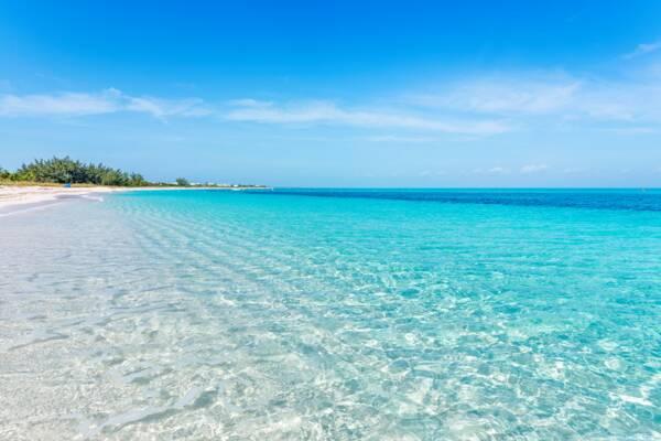 the beach at Wymara Resort