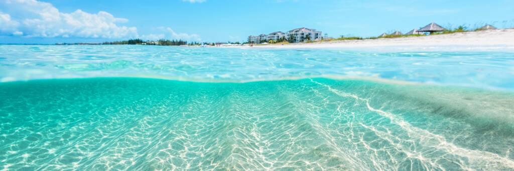 the beach and water at Wymara Resort